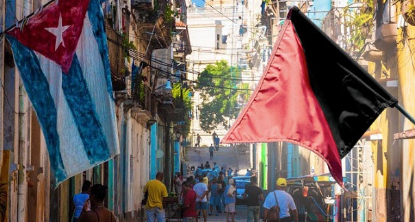 banderasanarquistaycubana